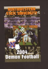 Northwestern State Demons--2004 Football Schedule