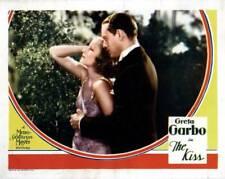 OLD MOVIE PHOTO The Kiss Lobby Card Greta Garbo Conrad Nagel 1929