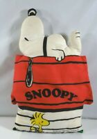 "1965 VINTAGE ""SNOOPY"" WITH ""WOODSTOCK"" 16 1/2"" PILLOW UNITED FEATURE SYNDICATE"