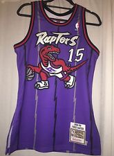 New Mitchell & Ness 100% Authentic Vince Carter Toronto Raptors Jersey (Size 36)