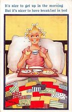 POSTCARD  COMIC    It's  nice to get up in the morning....