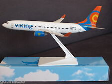 Viking Airlines Sweden Boeing B737-800 SE-RHR Push Fit Model 1:200 Scale
