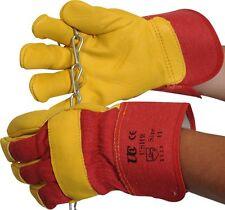 UCI USHR High Quality Rigger Gloves - Heavy Duty - Cow Grain Leather