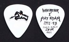 Metallica White Snake Guitar Pick #3 - 2012 Tour