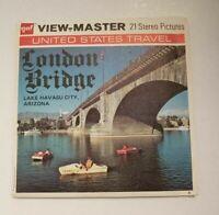 Scarce gaf A368 London Bridge Lake Havasu City AZ Travel viewmaster Reels Packet