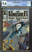 Punisher War Journal Comic #1 (1988) CGC 9.6 White Pages