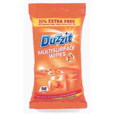 Duzzit Multisurface Jumbo Cleaning Wipes With Orange Oil Pack Of 50 NEW