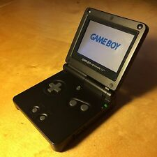Nintendo GameBoy Advance GBA SP Black  - 30 Day Warranty!