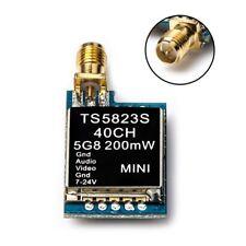 AKK TS5823S 5.8G 40CH 200MW RP-SMA Female Mini FPV AV Transmitter for FPV Drone