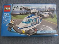 2008 LEGO CITY 7741 Police Helicopter MINT in THE BOX  Sealed Un-Opened Box