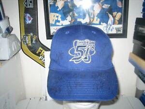 SIGNED X8 51S LAS VEGAS BLUE BASEBALL HAT CAP ADULT ONE SIZE MLB STARS AUTOGRAPH