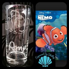 Disney Gift Finding Nemo Engraved Highball Glass Cup Personalised With Any Name!