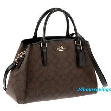 New COACH Small Signature Margot Carryall Satchel Crossbody Shoulder Bag F58310