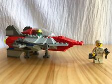 Lego Star Wars 7134 Classic A-Wing Fighter 100% Complete Adult Owned Year 2000