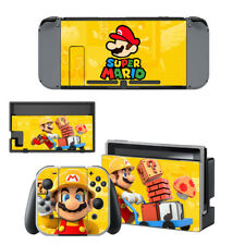 Nintendo Switch Console Joy-Con Skin Super Mario Vinyl Skin Decal Stickers #24
