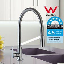 WELS Kitchen Laundry Sink Mixer Tap Faucet Swivel 360° Square Brass  WaterMark