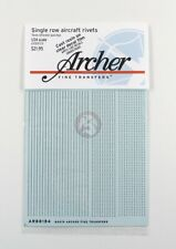 Archer 1/24 Single Row Aircraft Rivets (.41mm diameter with 3 spacings) AR88154