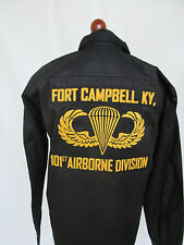 US Army 101st Airborne Division Ft. Campbell Screaming Eagle Tour Shirt #2 Gr L