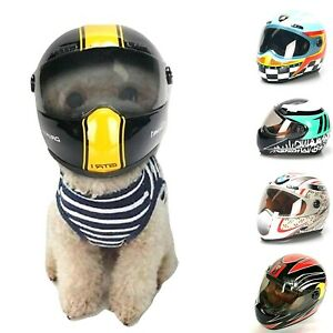 Motorcycle Safety Small Helmet For Little Pet Cat Dog Puppy Biker Souvenir Gift