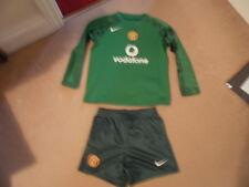 RARE boy vintage MANCHESTER UNITED Man Utd GOALKEEPER football kit age 4-5 (5-6)