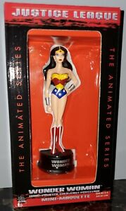 DC Direct Justice League WONDER WOMAN Mini Maquette Statue NEW MIB