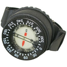 Wrist mount Compass side view waterproof for Scuba Diving underwater navigation