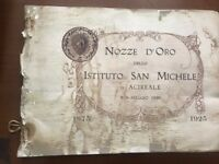 NOZZE D'ORO DELLO ISTITUTO SAN MICHELE DI ACIREALE 8-9 MAGGIO 1926