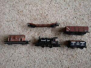 Hornby Smokey Joe engine and Wagons