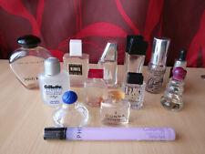 Miniature de parfum - Lot de 13 miniatures diverses vides et sans boîtes