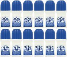 Avon On Duty 24 Hour Sport Roll On Antiperspirant Deodorant 2.6 fl.oz. (Pack 12)