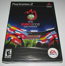 UEFA Euro 2008 Soccer for Playstation 2 Brand New! Factory Sealed!