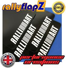 rallyflapZ MITSUBISHI L200 Triton 4th Gen 05-15 4mm Black RALLIART Logo White