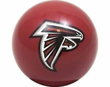 ATLANTA FALCONS RED NFL TEAM BILLIARD GAME POOL TABLE REPLACEMENT CUE 8 BALL