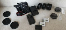 Canon EOS M Mirrorless Camera, with canon 14-45mm lens and extras