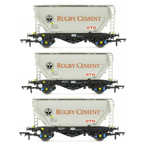 Accurascale ACC2024-RG-E Rugby Cement STS CAIB VTG PCA Bulk Cement Wagons