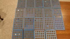 LINCOLN HEAD CENT COLLECTIONS -  8 Sets 1941 to 1958  51 coins at Least each set