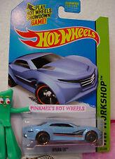 Case A 2015 Hot Wheels RYURA LX #204∞light Blue;orange rim pr5∞∞Night Burnerz