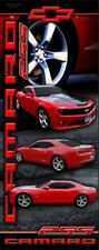 2SS CAMARO BANNER 34 x 85 with RETRACTABLE DISPLAY STAND INCLUDED