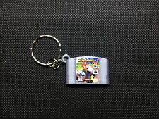 Mario Kart 64 3D CARTRIDGE KEYCHAIN Nintendo 64 N64 collectible