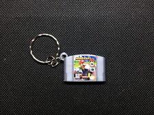 Mario Kart 64 3D CARTRIDGE KEYCHAIN Nintendo 64 N64 collectible