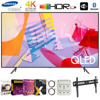 "Samsung 75"" Class Q60T QLED 4K UHD HDR Smart TV (2020) +Movies Streaming Pack"