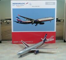 """Herpa Wings Aeroflot """"New Color"""" Airbus A330-300 1/200"""