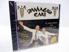 Dr Greg LaGana & Dr Barry Levy DAMAGED CARE - health care in USA CD NEW sealed