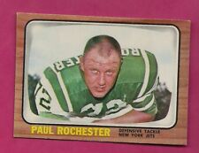 1966 TOPPS # 100 JETS PAUL ROCHESTER NRMT CARD (INV# A5142)