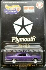 Hot  wheels Special Edition Hot Rod Magazine Street Machines '69 Plymouth GTX