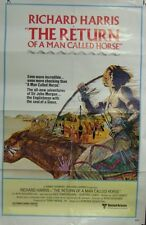 The Return Of A Man Called Horse Original 1976 Single Sided Folded Movie Poster