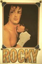 ROCKY MOVIE! SYLVESTER STALLONE TALIA SHIRE 1976 VINTAGE ORIGINAL IRON-ON! RARE!