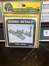 Woodland Scenics HO kit #D-243 Rural Sawmill.