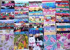 100 5 x 5 die cut squares_quilt fabric_charm pack_cotton add to stash assorted