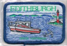 Edithburgh, Yorke Peninsula SA - Souvenir Woven Cloth Patch / Badge